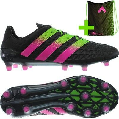Adidas Ace 16.1 men's football-boots black add. shoe-bag NEW