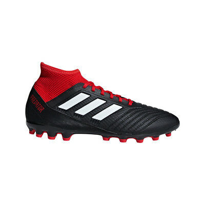 Adidas Predator 18.3 Ag Football Kunstrasensohle Black/White/Red [BB7747]