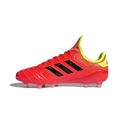 adidas Copa 18.1 FG Mens Mens Cp8938 (8.5 M US, Red/Core Black/Yellow)