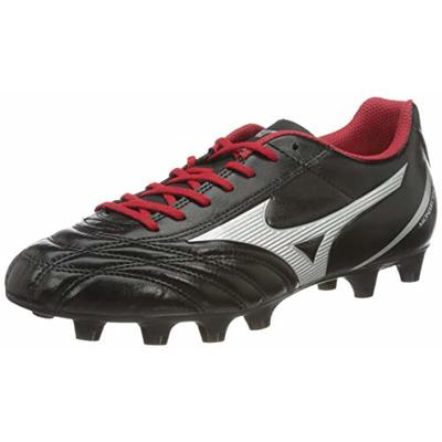 Mizuno MONARCIDA NEO SELECT, Unisex Adults Football, Black (Black/Silver/Red 03), 12 UK (47 EU)