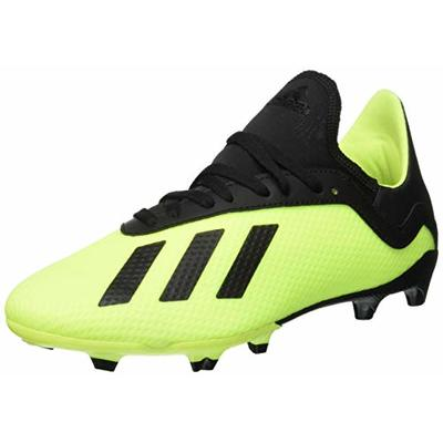 adidas X 18.3 Fg, Men's Footbal Shoes, Yellow (Solar Yellow/Core Black/Solar Yellow), 4 UK (36 2/3 EU)