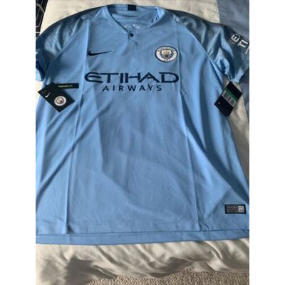 Manchester City 2018-19 (PL Champions) Home Shirt – Adult XL