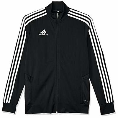 Adidas Kid's Tiro19 Tr Jacket, Black/White, 11-12 Years (L)