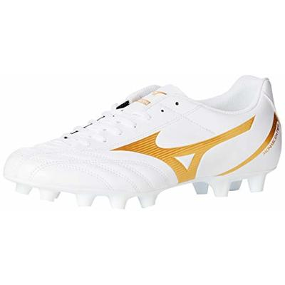 Mizuno MONARCIDA NEO SELECT, Unisex Adults Football, White (White/Gold 50), 10.5 UK (45 EU)