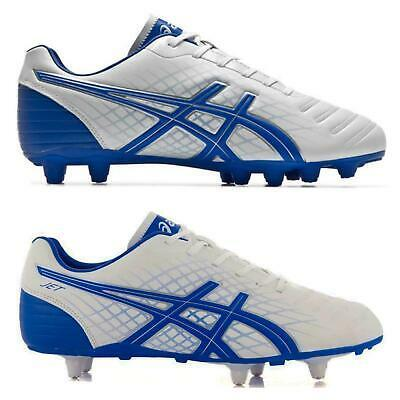 Asics Jet ST/CS Mens Football / Rugby Boots~2 Styles Firm + Soft Ground