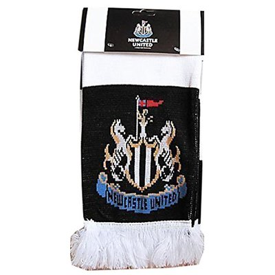New Official Newcastle Football Club Supporters Scarf Jacquard Strip Scarves