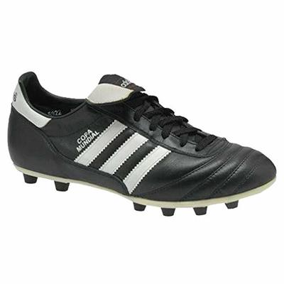 adidas Unisex Copa Mundial Firm Ground Football Shoes, Black, UK10.5