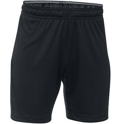 Under Armour Boys Challenger II Knit Shorts – Black – S