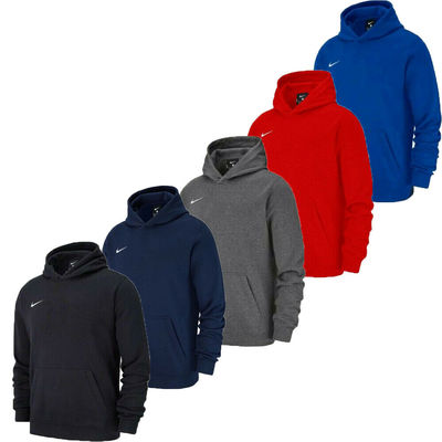 Nike Boys Hoodies Club 19 Kids Hoody Youth Hooded Sweatshirt Top Hoodie