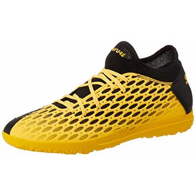 PUMA Men's Future 5.4 Tt Football Boots, Yellow (Ultra Yellow Black 03), 9 UK 43 EU