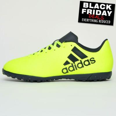 Adidas X 17.4 TF Mens Astro Football Soccer Turf Shoes Trainers Yellow