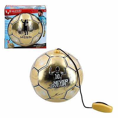 Messi Training System – Golden Edition Training Ball with Rope (ColorBaby 48070)