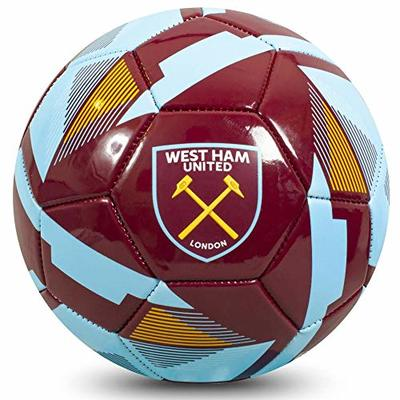 West Ham United FC Official Football Size 5 Ball RX