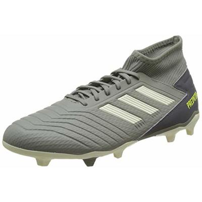 adidas Predator 19.3 Fg, Men's Footbal Shoes, Green (Legacy Green/Sand/Solar Yellow Legacy Green/Sand/Solar Yellow), 6.5 UK (40 EU)