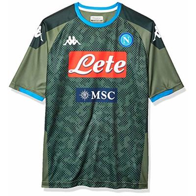 SSC Napoli Replica Away Jersey 2019/2020, Green, S