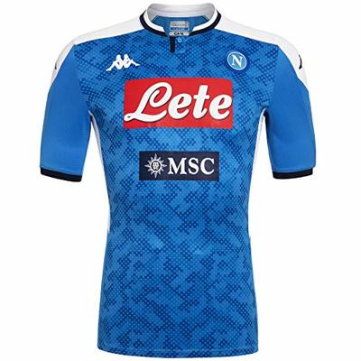 SSC Napoli Home Jersey 2019/2020, Blue, L