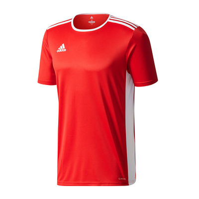 Adidas Entrada 18 short Sleeve Jersey Red White