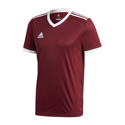 Adidas Tabela 18 short Sleeve Jersey Dark Red White