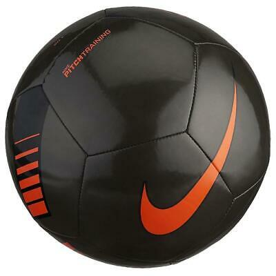 Soccer Ball Nike Pitch Training Black Footballs Nike Size 5 Ps 05979