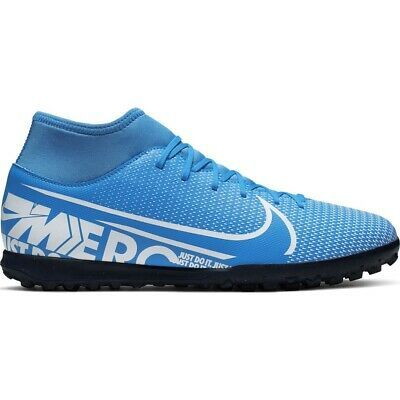 Nike Mercurial Superfly 7 Club Tf AT7980 414 soccer shoes blue multicolored