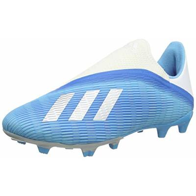 adidas X 19.3 Ll Fg, Unisex Adult's Football Boots, Multicolour (Bright Cyan/Core Black/Shock Pink 000), 7 UK (40 2/3 EU)