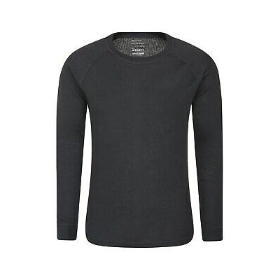 Mountain Warehouse Mens Long Sleeved Round Neck Top Thermal Baselayer Breathable