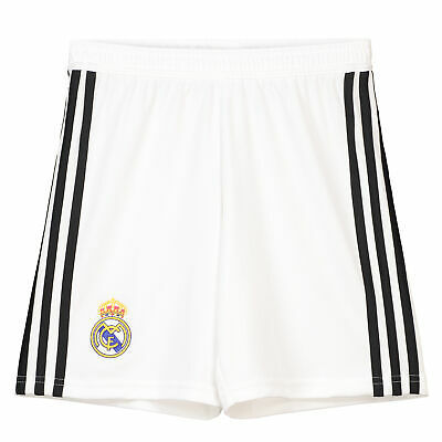 Real Madrid Home Shorts Trousers Bottomss Bottoms 2018 19 Kids adidas Football