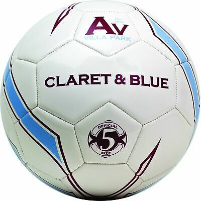 Aston Villa Size 5 Claret & Blue Supporters Football RRP £15