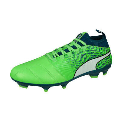 Puma One 18.3 AG Mens Football Boots Football Shoes 4G 3G Astroturf Green