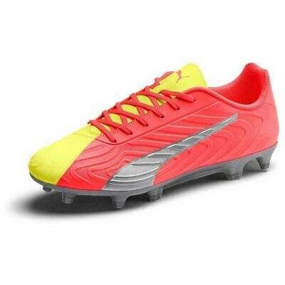 PUMA ONE 20.4 ONLY SEE GREAT FG AG FOOTBALL FOOTBALL BOOTS YELLOW,RED