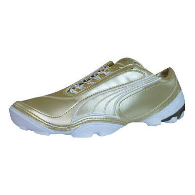 Puma V1.08 4 Trainer Mens Football Boots / Cleats – Gold – 1501